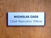 Large Name Plate