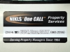 Magnetic Sign - Nikls One Call