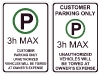 3-hour-maximum-parking-signs