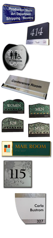 Door Signs and Desk Plates