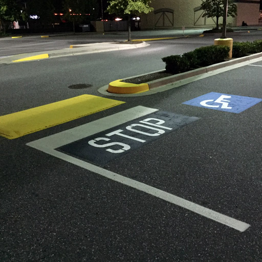 Parking Lot Line Painting