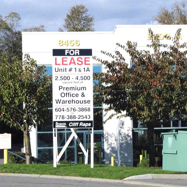 Leasing Signs